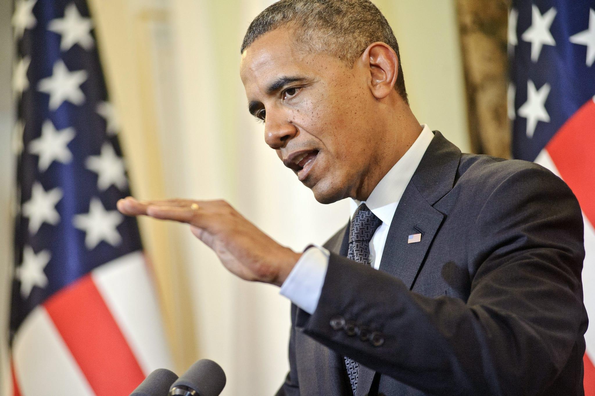 President Barack Obama visits San Bernardino