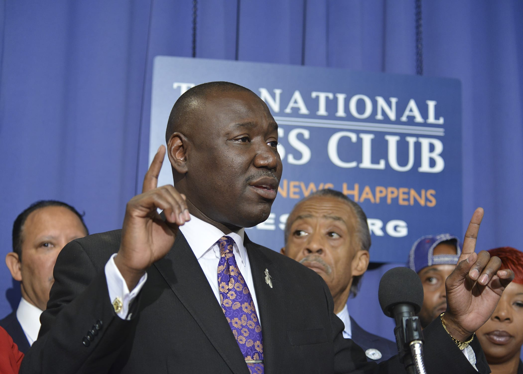 Benjamin Crump represented five of the 13 women involved in the Daniel Holtzclaw case. This photo was taken during a press conference about the shooting death of Michael Brown and police violence in the U.S. at the National Press Club in Washington, D.C. (Freddie Allen/AMG/NNPA)