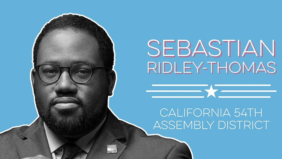 Introducing Sebastian Ridley-Thomas