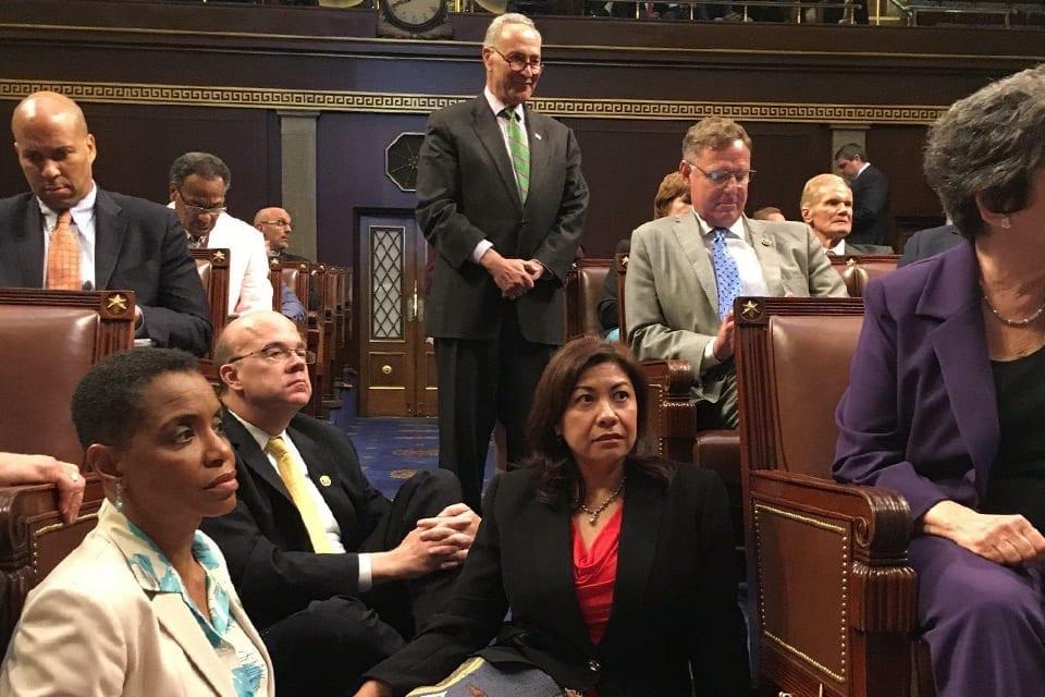 #NoBillNoBreak–California Reps join House Democrats in historic sit-in to demand votes on gun legislation