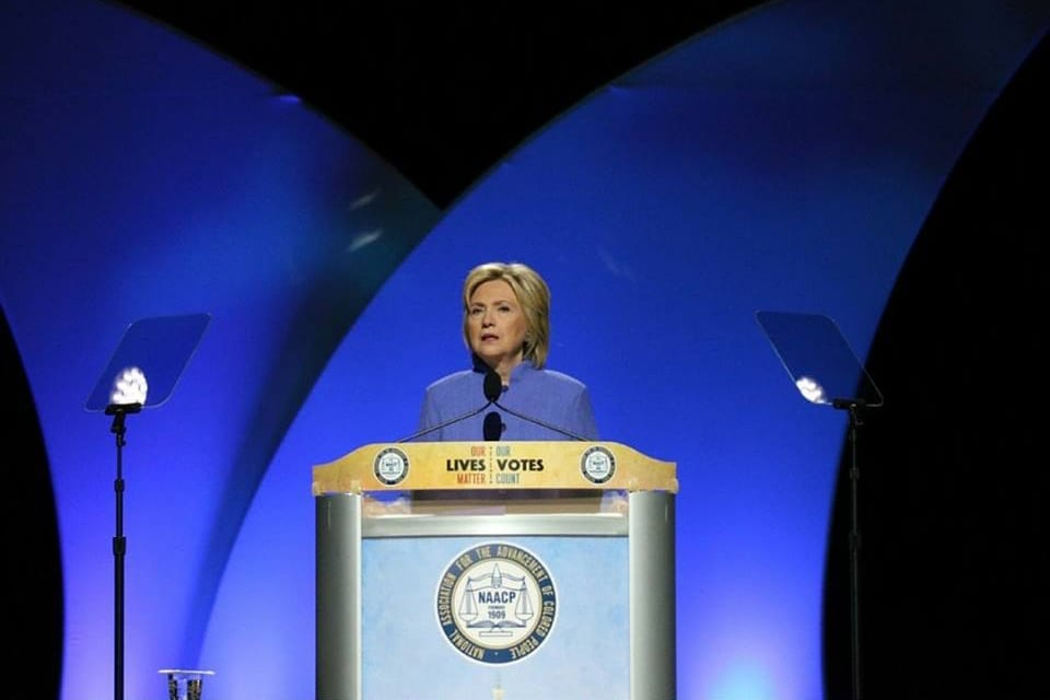 Hillary Clinton NAACP
