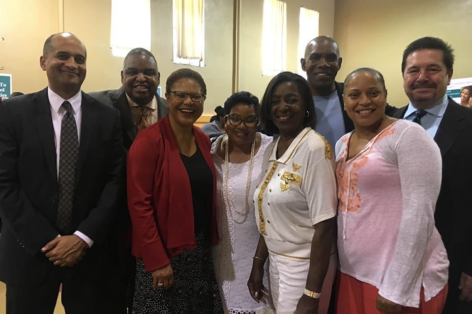 Members of Congressional Black Caucus bring health care focus to South LA