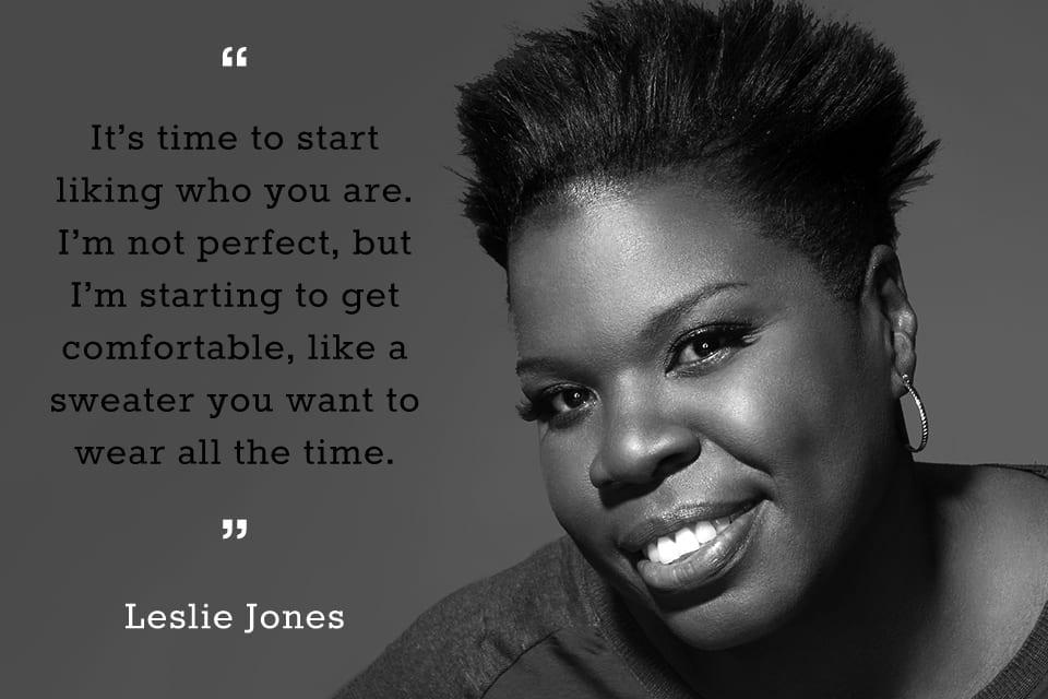 Leslie Jones quote