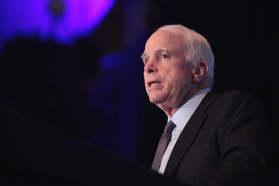 McCain votes no, derails 'Skinny Repeal' in marathon session