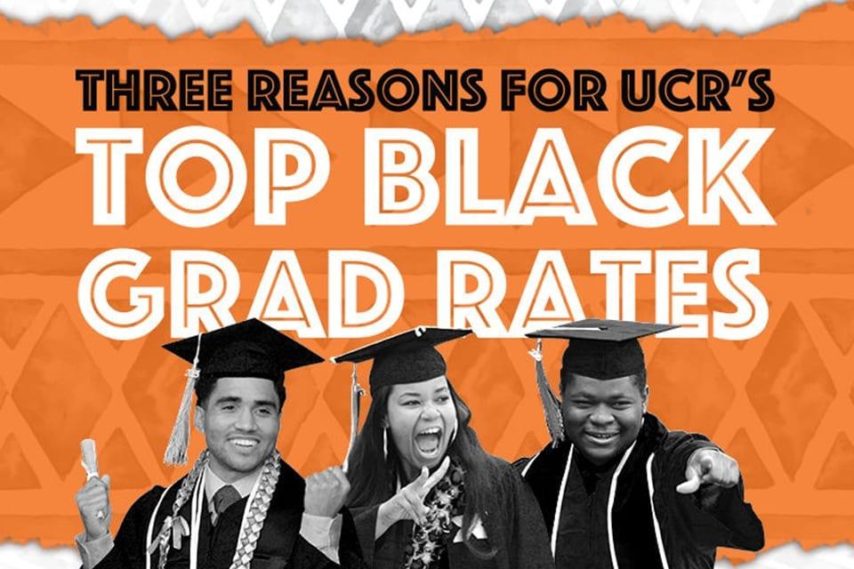 Three Reasons for UCR's Top Black Grad Rates