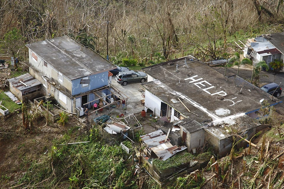 Puerto Ricans Suffer Apocalyptic Nightmare After Hurricanes