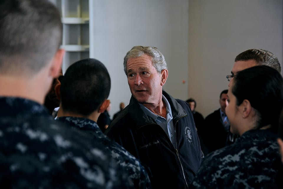 Trump Makes George W. Bush Look Like the 2nd Worst U.S. President