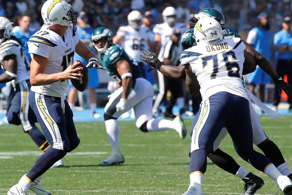 The faceless brilliance of Chargers' Russell Okung