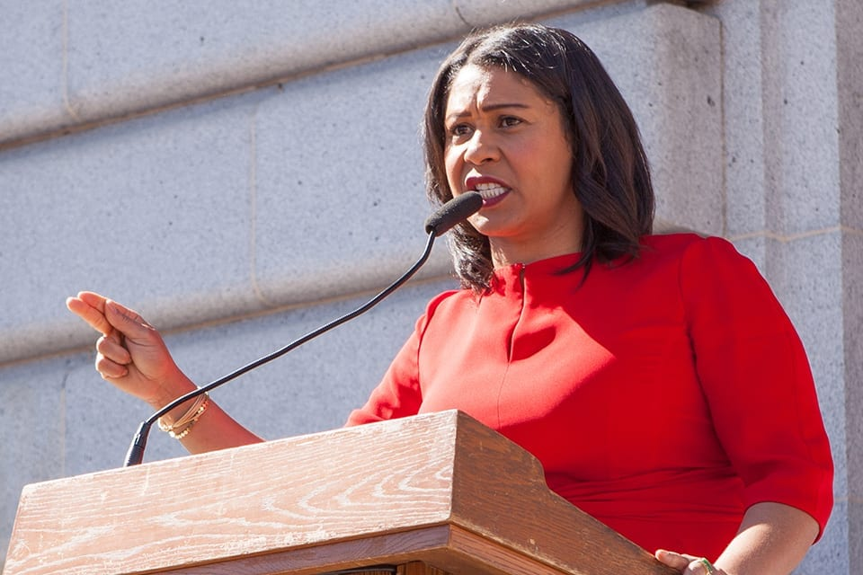 Residents Protest Board Vote that Ousted London Breed as Interim Mayor of San Francisco