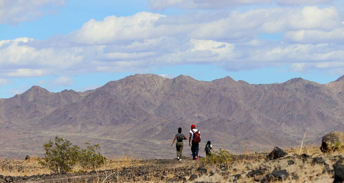 Experiencing Mojave Trails Through the Eyes of a Now and Future Leader