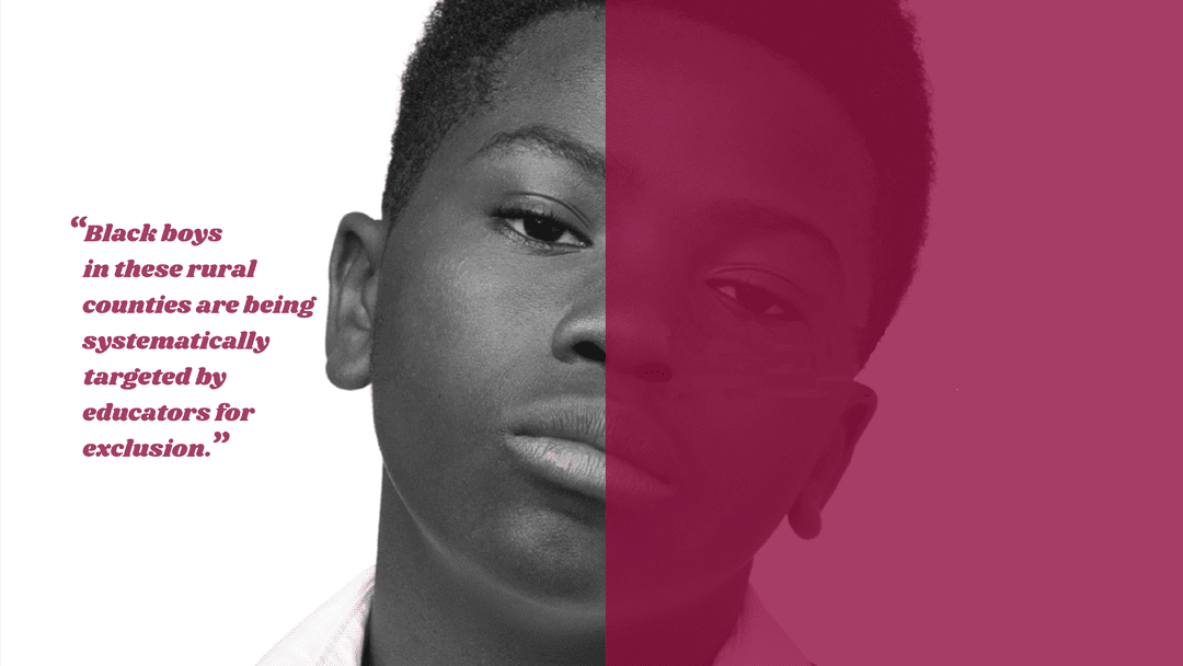 Get Out! Continuing Inequities in the Discipline of Black Males in CA's Public Schools