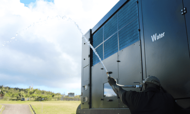 Squeezing Water from Air: Mysterious Machine Is A Lifeline on Caribbean Island