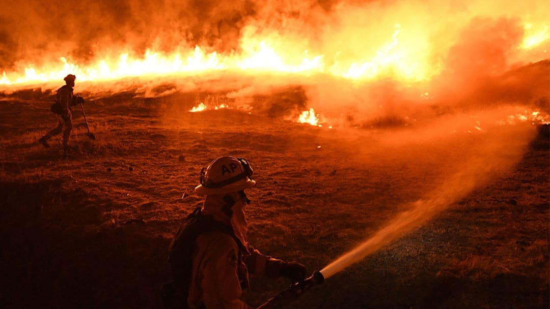 Breathing 'A Chore': California Wildfires Threaten the Health of Young and Old
