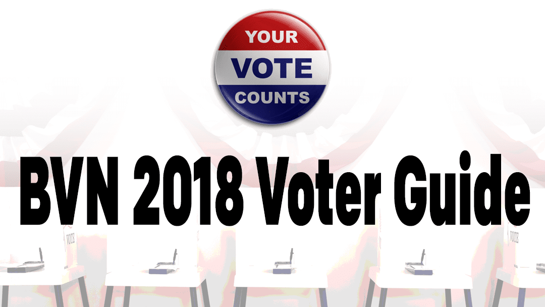 BVN 2018 Voter Guide