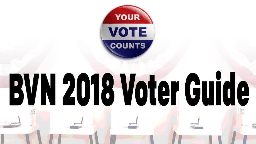 BVN 2018 Voter Guide