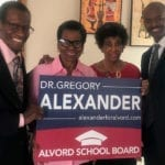 Eleanor Jean Grier Leadership Academy Endorses Dr. Gregory Alexander