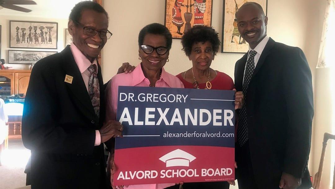 Eleanor Jean Grier Leadership Academy Endorses Dr. Gregory Alexander