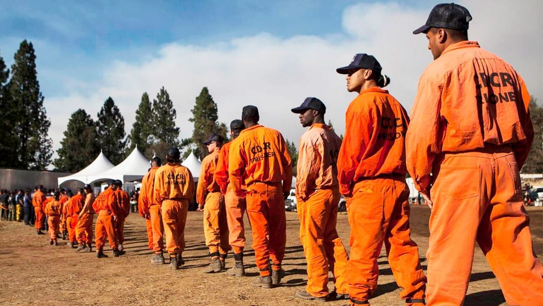 $2 per Day—Rehabilitation or Exploitation? California Inmates Fight Dangerous Wildfires