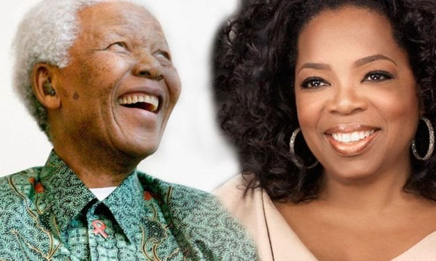Oprah Offers Rousing Tribute to Mandela During South Africa Visit