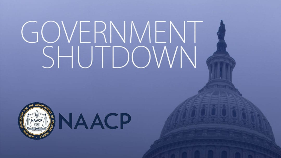 NAACP Slams Trump Administration and Calls for End to Government Shutdown