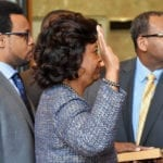 Chief Justice Says Her Elevation Brings 'Hope and Promise'