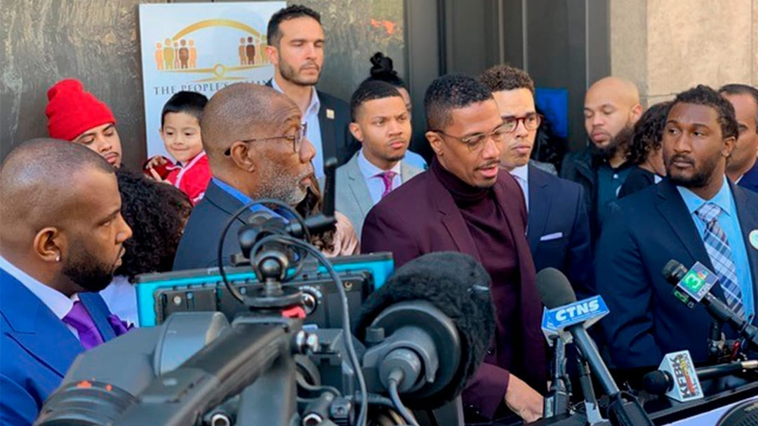 Nick Cannon Steps Up to Support Sons of Slain Sacramento Man