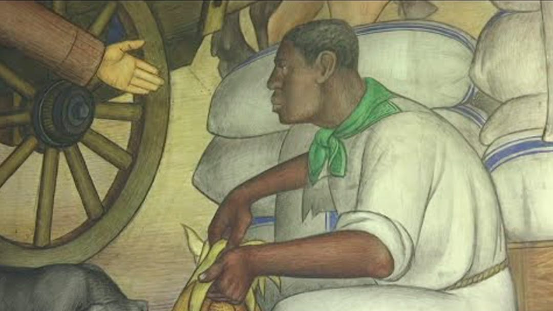 California School Draws Crowd to View Mural Some Call Racist