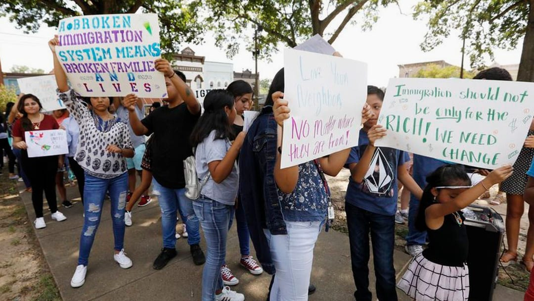 'Let Our Voices be Heard': March Against Immigration Raids