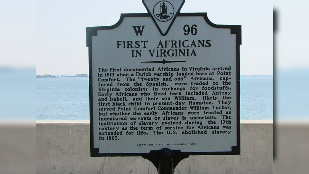 Virginia Marks 400th Anniversary of Slave Ship Arrival