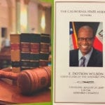 A Warm Sendoff for E. Dotson Wilson, the Nation's First And Longest-Serving African American Legislative Clerk