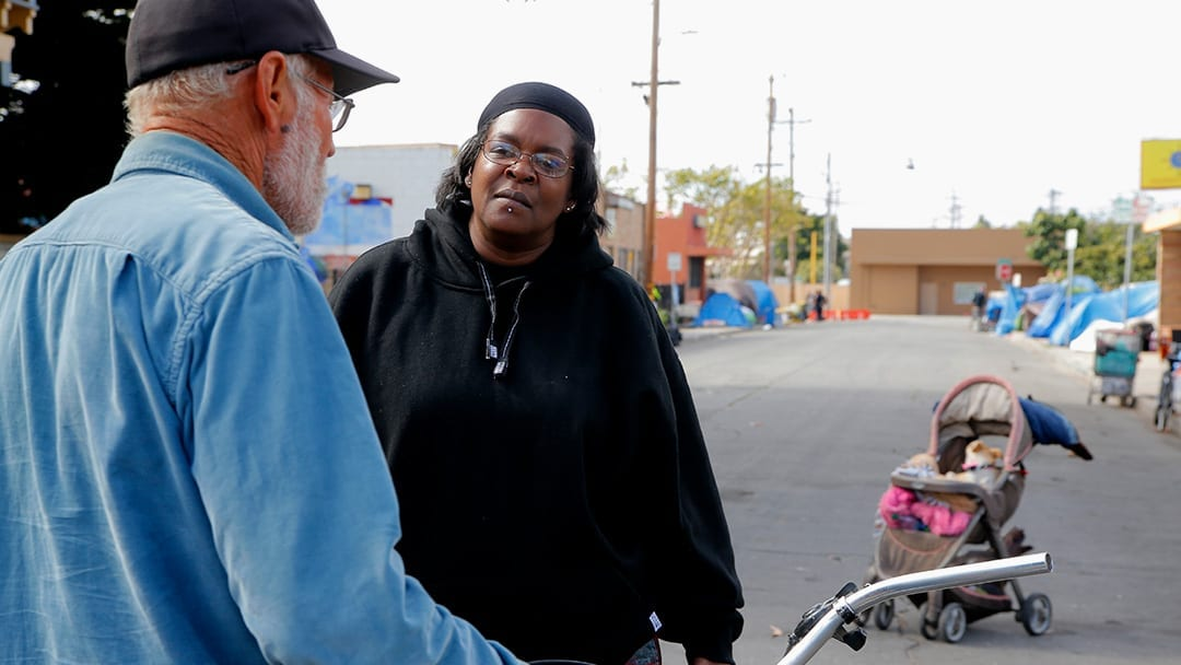 Black people disproportionately homeless in California