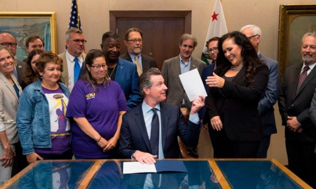 Gov. Newsom the moderate? On this spectrum, almost every Democratic legislator is further left
