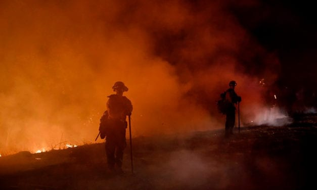As California burns, scientists search the smoke for threats to firefighter health