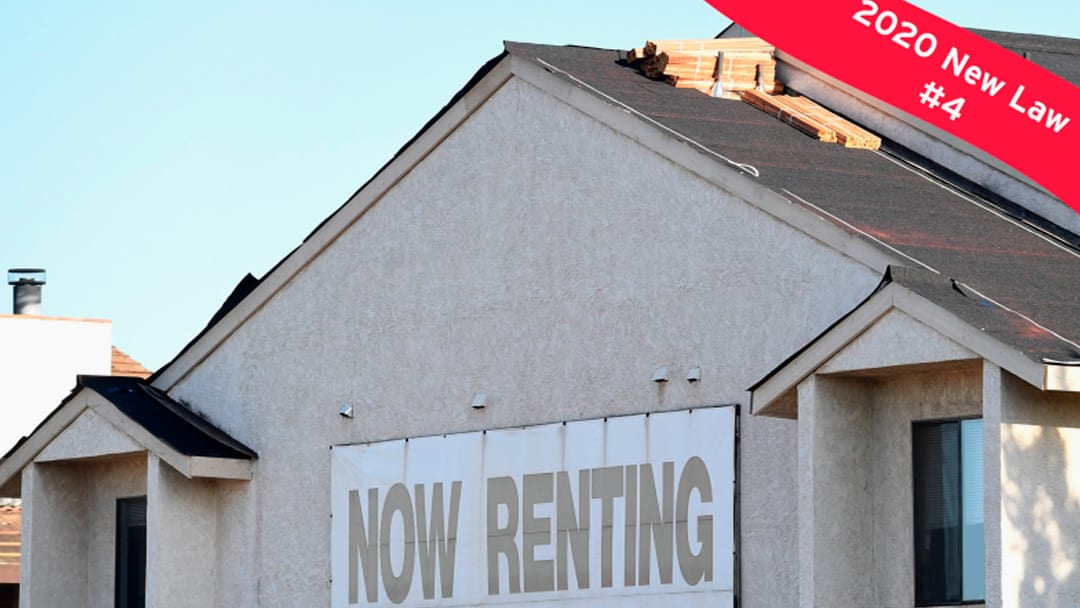 New 2020 law #4: No more discriminating against renters who have housing vouchers