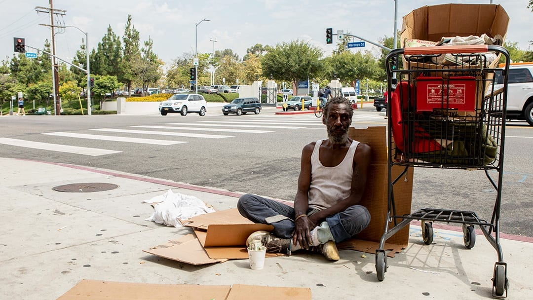 Newsom offers vacant land for homeless shelters, but local officials worry: Who will pay?