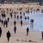 California closes parking lots at beaches and parks to stem spread of coronavirus