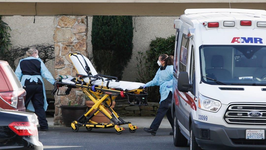 Nursing Home Outbreak Spotlights Coronavirus Risk In Elder Care Facilities