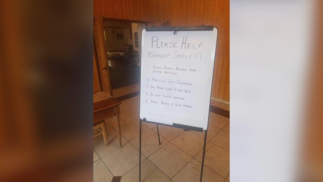 """Don't Tap Your Neighbor:"" Black Faith Leaders Respond to Coronavirus Crisis"