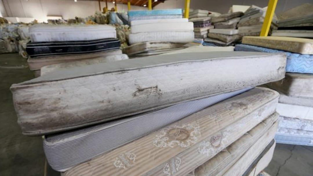 Mattress recycling program helping California achieve statewide goal