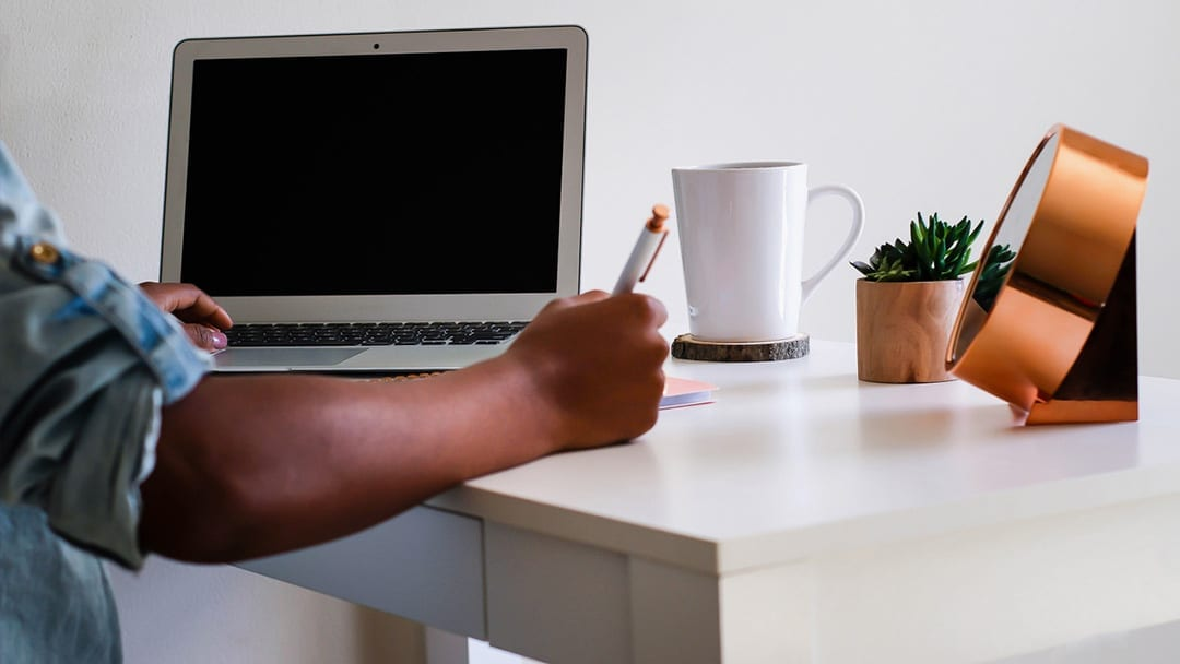 New to working from home? Here are some tips.