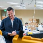 Newsom the Beneficent? California governor steps into pandemic supply vacuum