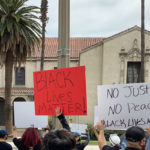 Black Lives Matter Protesters March in Downtown Riverside