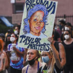Anger, Tears for Protesters Seeking Justice for Taylor